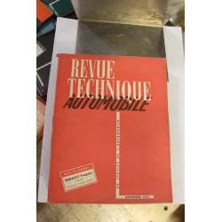 Revues techniques novembre 1953 pour Renault Frégate et compte rendu du salon