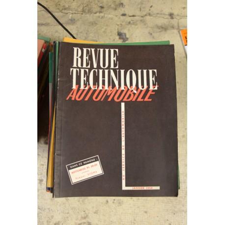 Revues techniques janvier 1954 Hotchkiss PL20-25 et Pompes