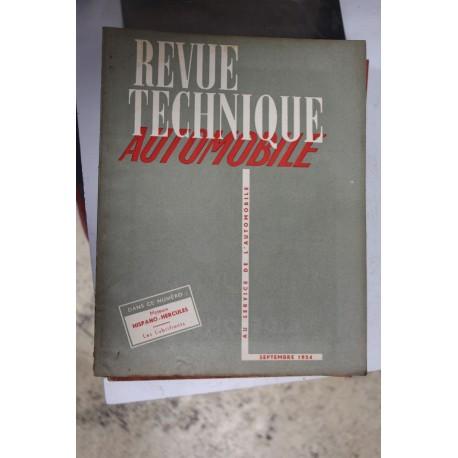 Revues techniques septembre 1954 moteur Hispano-Hercules et les