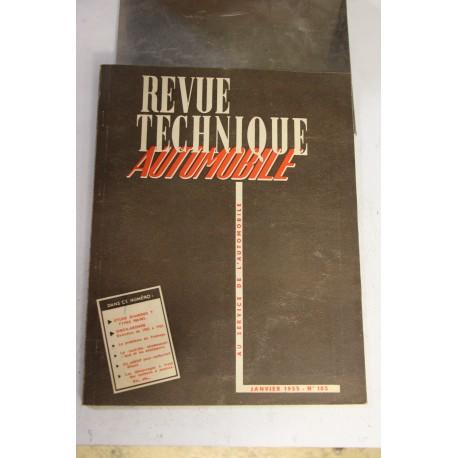 Revues techniques janvier 1955 etude Diamond T type 980-981