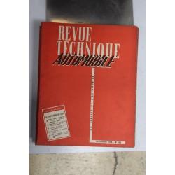 Revues techniques novembre 1955 Simca Vedette , Trianon, Versailles,etc,,,