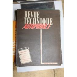 Revues techniques janvier 1956 Frégate 1954 à 1956 et notice