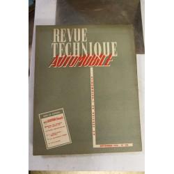 Revues techniques septembre 1956 la pour Renault Dauphine et réglage des allumeurs pour moteur V8