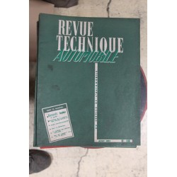 Revues techniques août 1957 Renault Dauphine ( 2eme partie)