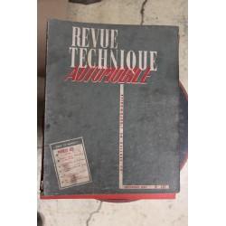 Revues techniques septembre 1957 pour Peugeot 403 ( 2eme partie)