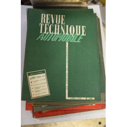 Revues techniques août 1958 pour Simca Ariane 4