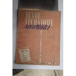 Revues techniques décembre 1958 pour Renault Frégate 1956/58