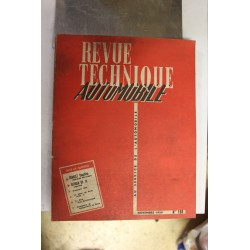 Revues techniques novembre 1959 Renault dauphine 58-59-60 Aerostable et Citroën DS19 59-60