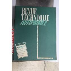 Revues techniques août 1960 Panhard PL17 et évolution Dyna Z