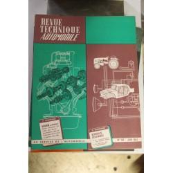 Revues techniques juin 1962 Saviem ex Renault moteur horizontal 572