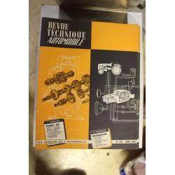 Revues techniques mars 1963 pour Peugeot 404 moteur injection