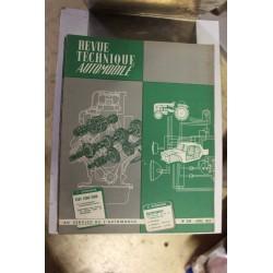 Revues techniques avril 1963 pour Fiat 1300 et 1500