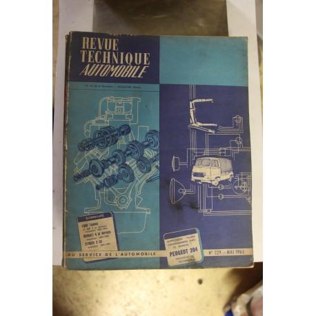 Revues techniques mai 1965 pour Ford Taunus 17 MP3 et dérivés