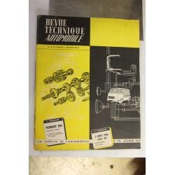Revues techniques décembre 1965 pour Peugeot 204 berline et