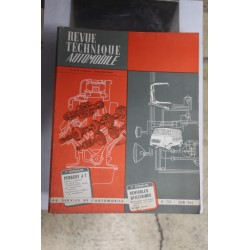 Revues techniques juin 1966 pour Peugeot J7 essence