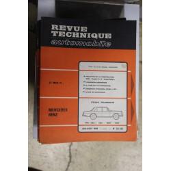 Revues techniques juillet/août 1968 n°267/268 Mercedes 230 SL 250 S 250 SE et 250 SL