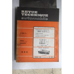 Revues techniques février 1970 n°286 NSU 4 cylindres
