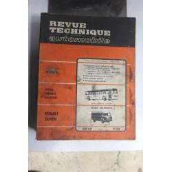 Revues techniques juin 1970 n°290 pour Renault Saviem SG2 , SG4 essence