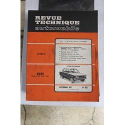 Revues techniques septembre 1971 n°305 pour Volvo 142 144 et