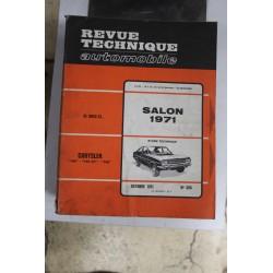 Revues techniques octobre 1971 n°306 Chrysler 160 , 160 GT et 180