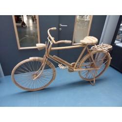 Vélo en osier Vintage Garage