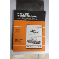 Revues techniques avril 1977 n°366 pour Ford Taunus depuis 02-1976 4 cylindres 1300 1600 2000