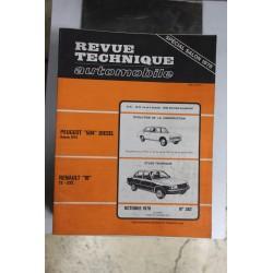 Revues techniques octobre 1978 n°382 pour Renault 18 TS et GTS