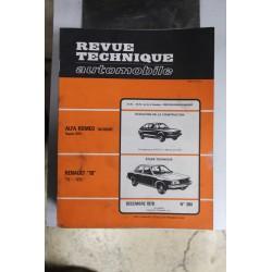 Revues techniques décembre 1978 n°384 pour Renault 18 TL et GTL