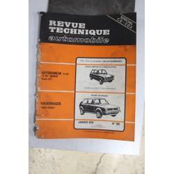 Revues techniques janvier 1979 n°385 pour Volkswagen Golf diesel