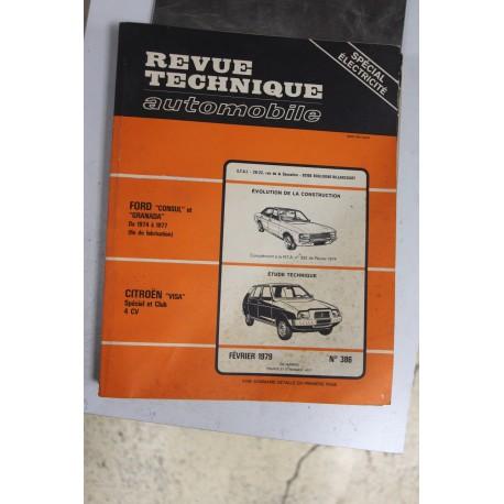 Revues techniques février 1979 n°386 Citroën Visa Spécial et