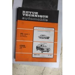 Revues techniques mars 1979 n°387 Citroën Visa Super 5cv