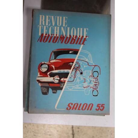 Revues techniques Salon 1955 Vintage Garage