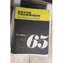 Revues techniques Salon 1965