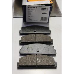 Plaquette de frein pour FIAT 124 SEAT 124 1200  TALBOT 1000 1,3 RALLY