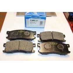 Plaquette de frein pour HONDA PRELUDE (SN) 1,6L
