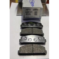Plaquette de frein pour Dahiatsu Consorte 1,2L 1,0L 70-72
