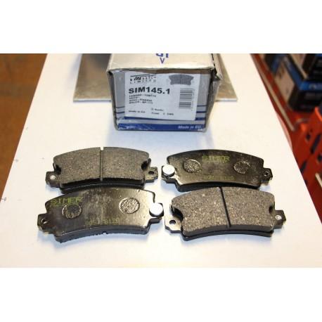 Plaquette de frein pour RENAULT ESPACE I ET II R12 R17 R18R21