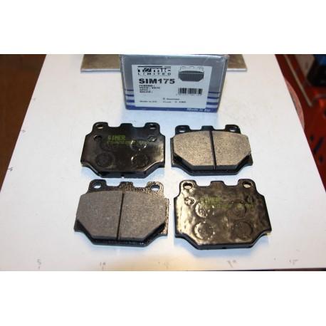 Plaquette de frein pour Toyota Starlet 1,0L 74-78 Copain 1,0L