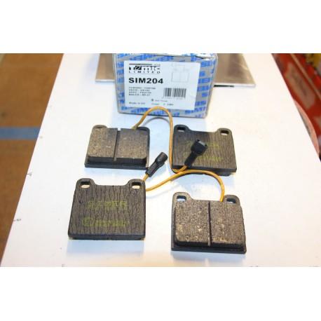 Plaquette de frein pour TALBOT 1300 1301 1500 1501 pour SIMCA 1501