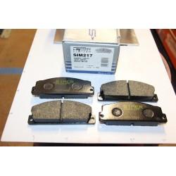 Plaquette de frein pour FIAT 124 125 127 131 128 PANDA RITMO,,,