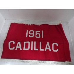 Drapeau Cadillac 1951 Vintage Garage