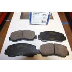 Plaquette de frein pour MITSUBISHI GALANT A16 L300 PAJEROL0/1