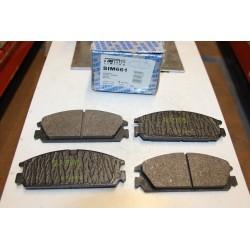 Plaquette de frein pour Honda Civic I 1,6L 16v CRX 1,6L 16v 86-87 Integra 1,5L 85-89