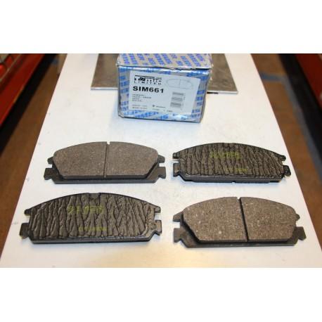 Plaquette de frein pour Honda Civic I 1,6L 16v CRX 1,6L 16v