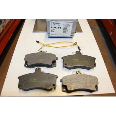 Plaquette de frein pour Lada 110 , 111 , 112 1,5l 1,6l a partir de 1995 Diva 1,1l 1,3l 1,5l depuis 1991