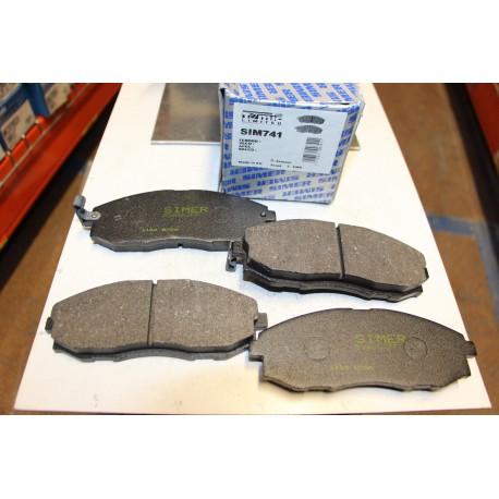 Plaquette de frein pour Hyndai H200 et H-1 2,4L 2,5L d et 2,5L