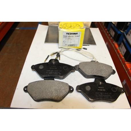 Plaquette de frein pour CITROEN XANTIA pour disque diametre 283