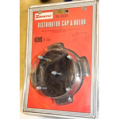 Kit Tête + rotor  4 cylindres  pour Pontiac 75-77 -82-86 pour Chevrolet 75-86  Olds 76-77