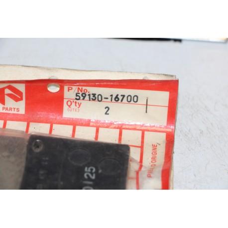 Plaquette de frein pour Suzuki GSX500 84-85 GSX550 83-84