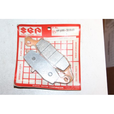 Plaquette de frein pour Suzuki DR800 91-97  Vintage Garage